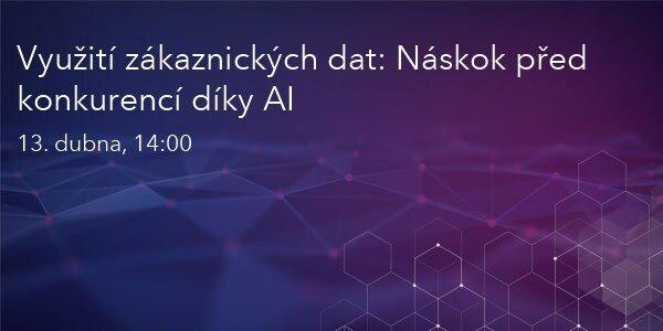Využití zákaznických dat: náskok díky AI